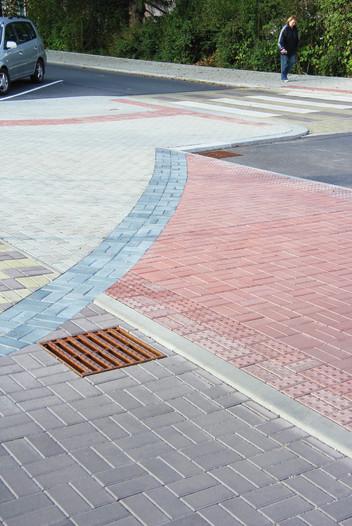 Betonová dlažba Promenáda