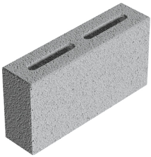 Pohledové tvárnice Liapor R 100 pro betonové ploty