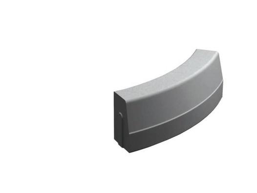 Silniční obrubník obloukový vnější R1