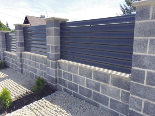 Pohledové plotové tvárnice Liapor R 195