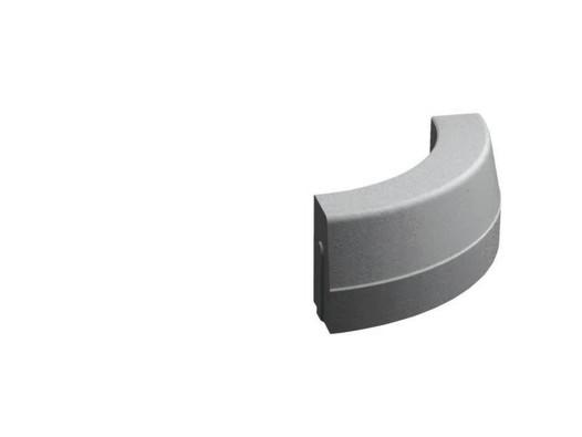 Silniční obrubník obloukový vnější R0,5