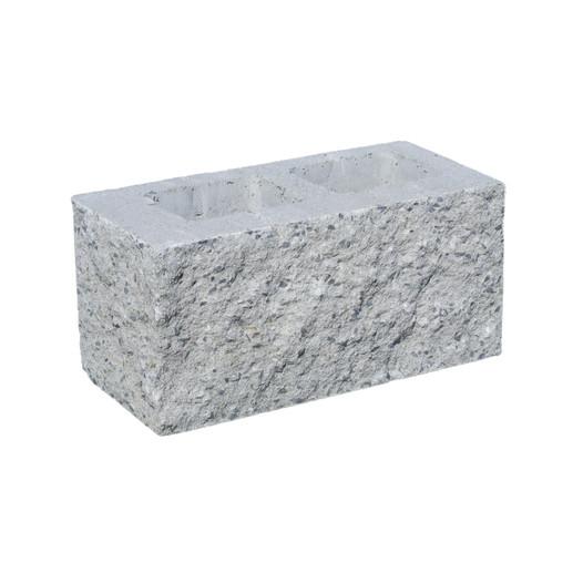 Rohově štípané zdivo pro betonové ploty HX 2/19 3B