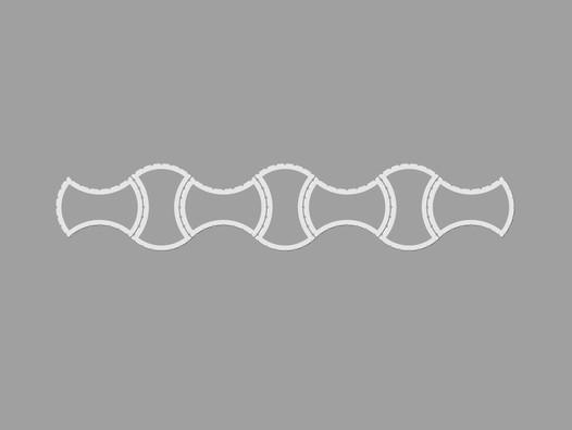Svahové tvarovky VIOLA mini
