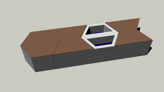 Multifunkční prvek PLAYSTONE