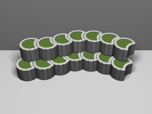 Betonová svahovka ASTRA mini